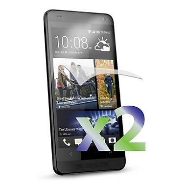 Exian HTC One M7 Screen Protector, 2 Pieces, Clear