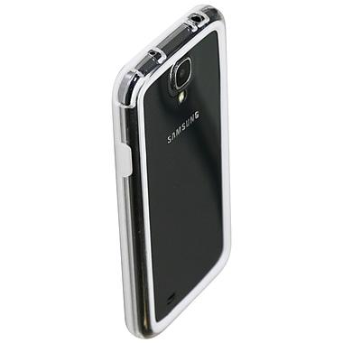 Exian – Étui pare-chocs pour Galaxy S4, blanc