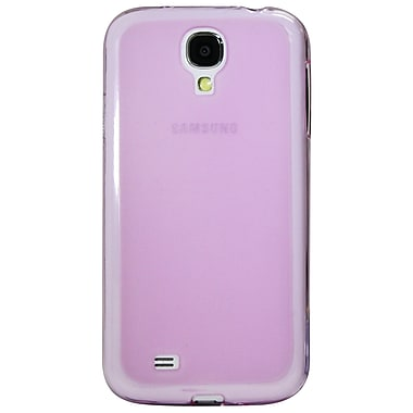 Exian Case for Galaxy S4, Transparent Purple