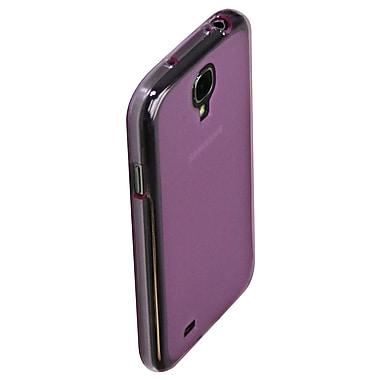 Exian – Étui pour Galaxy S4, violet transparent