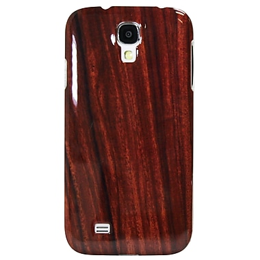 Exian Case for Galaxy S4, Wood Grain Pattern