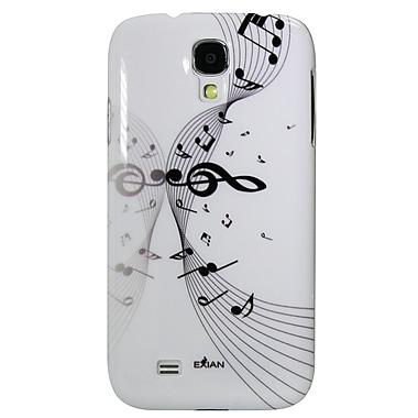 Exian – Étuis avec notes de musique pour Galaxy S4