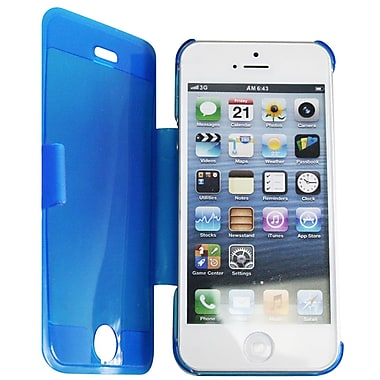 Exian iPhone 5 Transparent Cases with Folding Stand