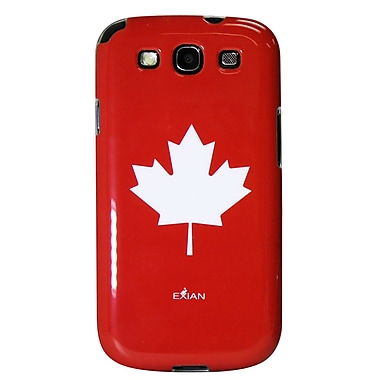 Exian Case for Galaxy S3, Maple Leaf