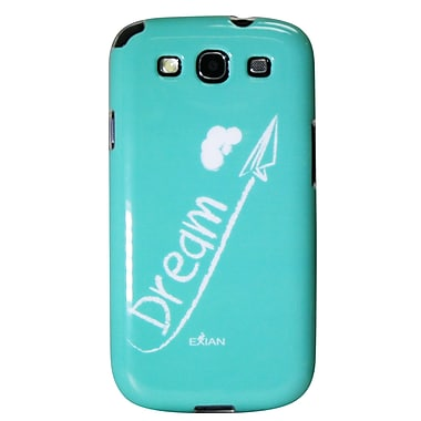 Exian Case for Galaxy S3, Dream White on Teal