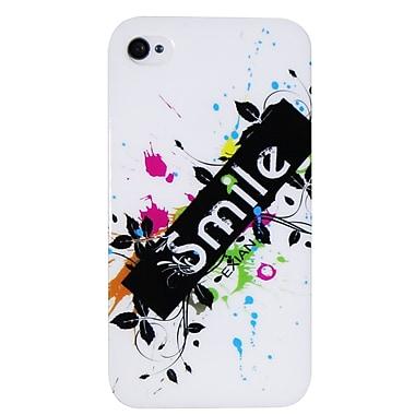 Exian – Étui « Smile » pour iPhone 4/4s