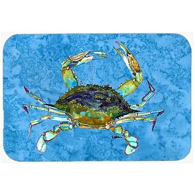 Caroline's Treasures Crab Kitchen/Bath Mat