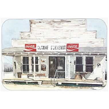 Caroline's Treasures New Orleans Prints Kitchen/Bath Mat