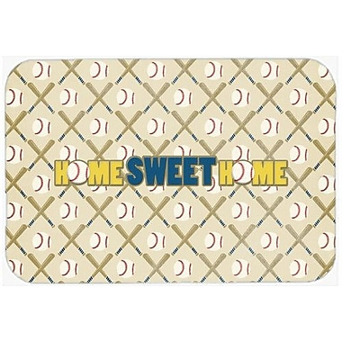 Caroline's Treasures Home Sweet Home Kitchen/Bath Mat; 20'' H x 30'' W x 0.25'' D