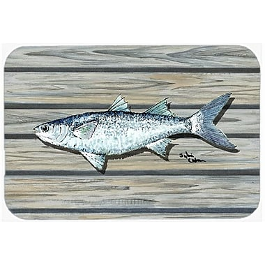 Caroline's Treasures Fish Mullet Kitchen/Bath Mat; 20'' H x 30'' W x 0.25'' D