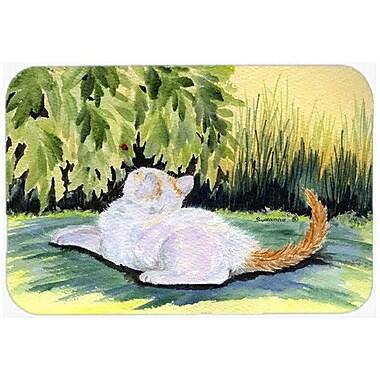 Caroline's Treasures Cat Kitchen/Bath Mat; 24'' H x 36'' W x 0.25'' D