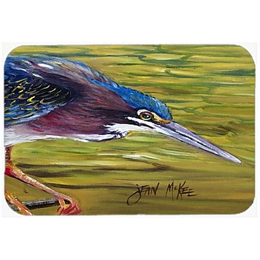 Caroline's Treasures Green Heron Kitchen/Bath Mat; 20'' H x 30'' W x 0.25'' D