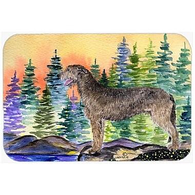 Caroline's Treasures Irish Wolfhound Kitchen/Bath Mat; 20'' H x 30'' W x 0.25'' D