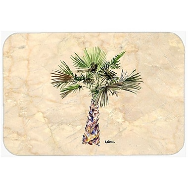 Caroline's Treasures Palm Tree Kitchen/Bath Mat; 24'' H x 36'' W x 0.25'' D