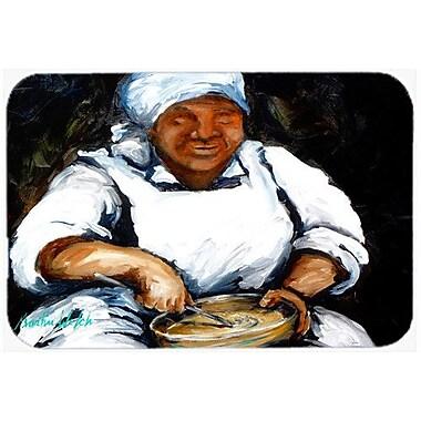 Caroline's Treasures Hot Water Cornbread Kitchen/Bath Mat; 24'' H x 36'' W x 0.25'' D