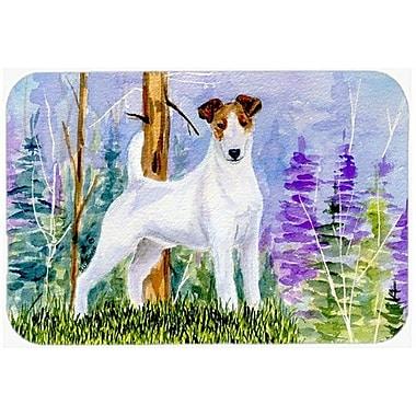 Caroline's Treasures Jack Russell Terrier Kitchen/Bath Mat; 20'' H x 30'' W x 0.25'' D