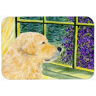 Caroline's Treasures Golden Retriever Kitchen/Bath Mat; 24'' H x 36'' W x 0.25'' D