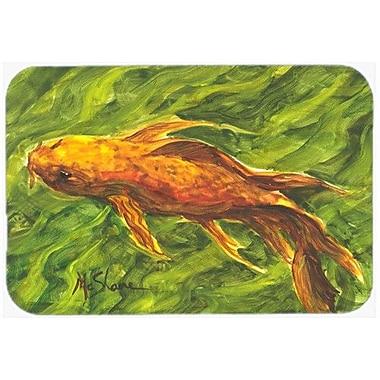 Caroline's Treasures Fish Koi Kitchen/Bath Mat; 24'' H x 36'' W x 0.25'' D