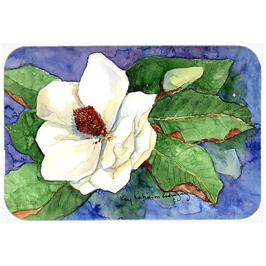 Caroline's Treasures Flower Magnolia Kitchen/Bath Mat; 20'' H x 30'' W x 0.25'' D