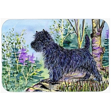 Caroline's Treasures Cairn Terrier Kitchen/Bath Mat; 24'' H x 36'' W x 0.25'' D