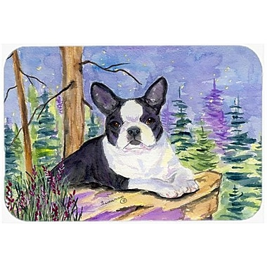 Caroline's Treasures Boston Terrier Kitchen/Bath Mat; 20'' H x 30'' W x 0.25'' D