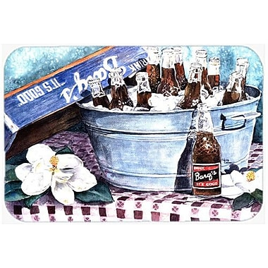 Caroline's Treasures Barq's and Old Washtub Kitchen/Bath Mat; 24'' H x 36'' W x 0.25'' D