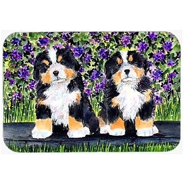 Caroline's Treasures Bernese Mountain Dog Kitchen/Bath Mat; 24'' H x 36'' W x 0.25'' D
