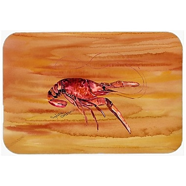Caroline's Treasures Crawfish Kitchen/Bath Mat; 20'' H x 30'' W x 0.25'' D
