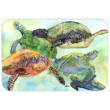 Caroline's Treasures Turtle Kitchen/Bath Mat; 20'' H x 30'' W x 0.25'' D
