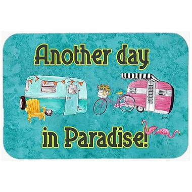 Caroline's Treasures Another Day In Paradise Kitchen/Bath Mat; 20'' H x 30'' W x 0.25'' D