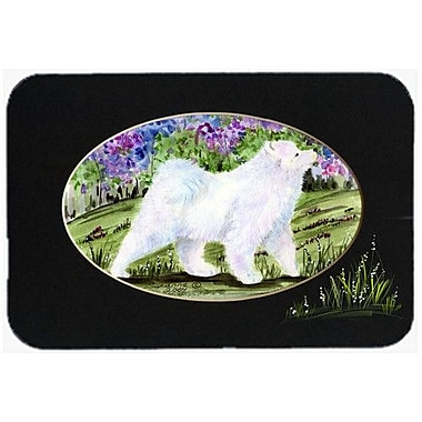 Caroline's Treasures Samoyed Kitchen/Bath Mat; 20'' H x 30'' W x 0.25'' D