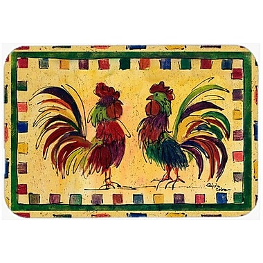 Caroline's Treasures Rooster Kitchen/Bath Mat; 24'' H x 36'' W x 0.25'' D