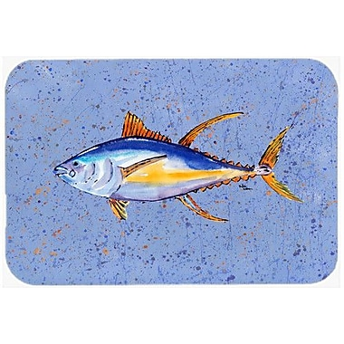 Caroline's Treasures Tuna Fish Kitchen/Bath Mat; 24'' H x 36'' W x 0.25'' D