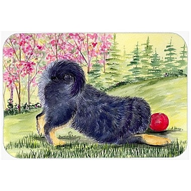 Caroline's Treasures Tibetan Mastiff Kitchen/Bath Mat; 24'' H x 36'' W x 0.25'' D