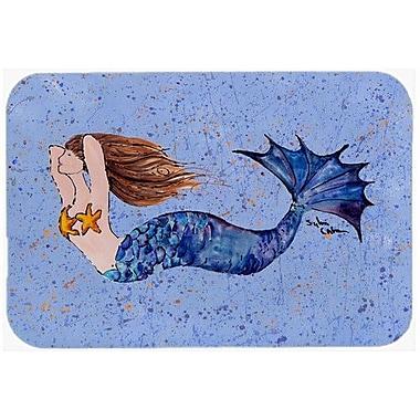 Caroline's Treasures Mermaid Kitchen/Bath Mat; 24'' H x 36'' W x 0.25'' D