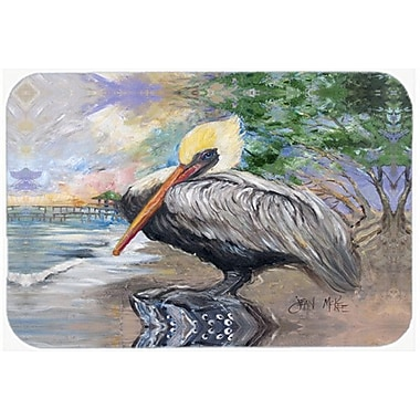 Caroline's Treasures Pelican Bay Kitchen/Bath Mat; 24'' H x 36'' W x 0.25'' D
