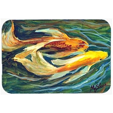 Caroline's Treasures Fish Koi Kitchen/Bath Mat; 20'' H x 30'' W x 0.25'' D