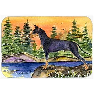 Caroline's Treasures Manchester Terrier Kitchen/Bath Mat; 24'' H x 36'' W x 0.25'' D