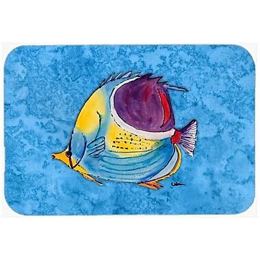 Caroline's Treasures Fish Tropical Kitchen/Bath Mat; 20'' H x 30'' W x 0.25'' D