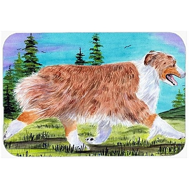 Caroline's Treasures Australian Shepherd Kitchen/Bath Mat; 20'' H x 30'' W x 0.25'' D