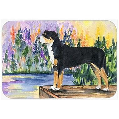 Caroline's Treasures Greater Swiss Mountain Dog Kitchen/Bath Mat; 20'' H x 30'' W x 0.25'' D
