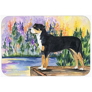 Caroline's Treasures Greater Swiss Mountain Dog Kitchen/Bath Mat; 24'' H x 36'' W x 0.25'' D