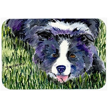 Caroline's Treasures Border Collie Kitchen/Bath Mat; 20'' H x 30'' W x 0.25'' D