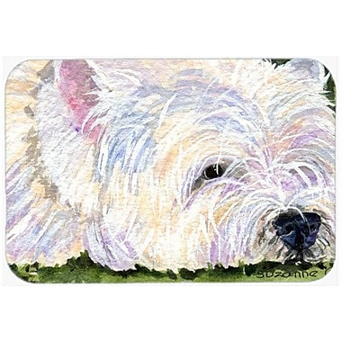 Caroline's Treasures Westie Kitchen/Bath Mat; 24'' H x 36'' W x 0.25'' D