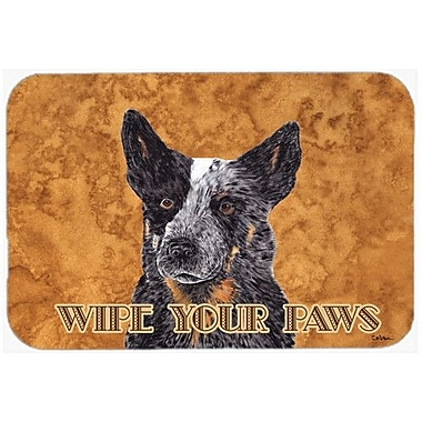 Caroline's Treasures Australian Cattle Dog Kitchen/Bath Mat; 24'' H x 36'' W x 0.25'' D