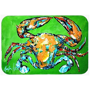Caroline's Treasures Wide Load Crab Kitchen/Bath Mat; 20'' H x 30'' W x 0.25'' D