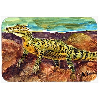 Caroline's Treasures Alligator Kitchen/Bath Mat; 20'' H x 30'' W x 0.25'' D