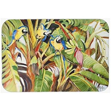 Caroline's Treasures Three Parrots Kitchen/Bath Mat; 20'' H x 30'' W x 0.25'' D