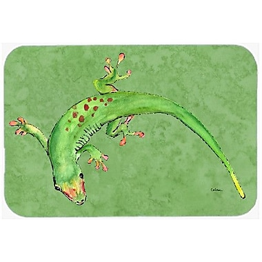 Caroline's Treasures Gecko Kitchen/Bath Mat; 20'' H x 30'' W x 0.25'' D