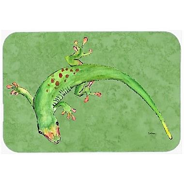 Caroline's Treasures Gecko Kitchen/Bath Mat; 24'' H x 36'' W x 0.25'' D